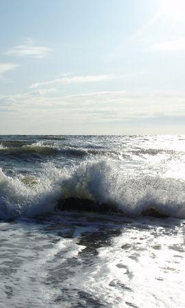 11257 скачать обои Пейзаж, Вода, Море, Солнце, Волны - заставки и картинки бесплатно