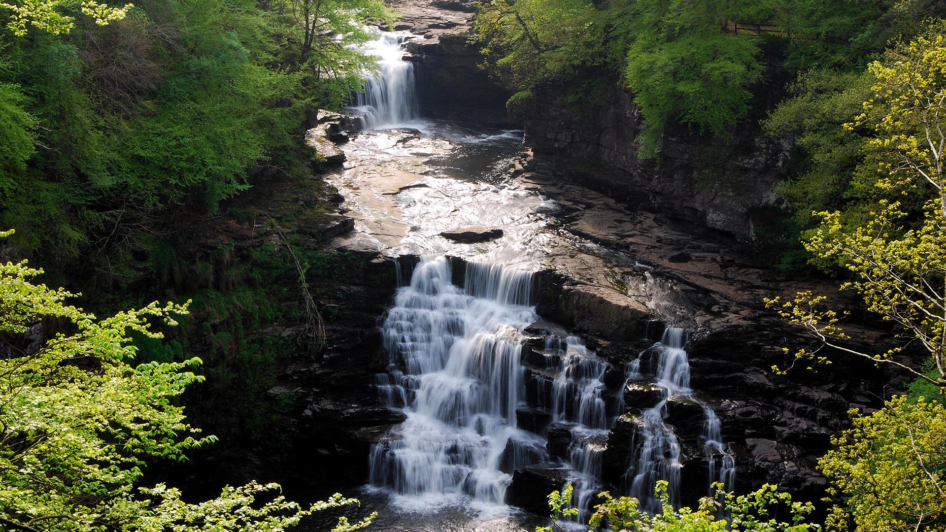 19167 скачать обои Пейзаж, Река, Водопады - заставки и картинки бесплатно