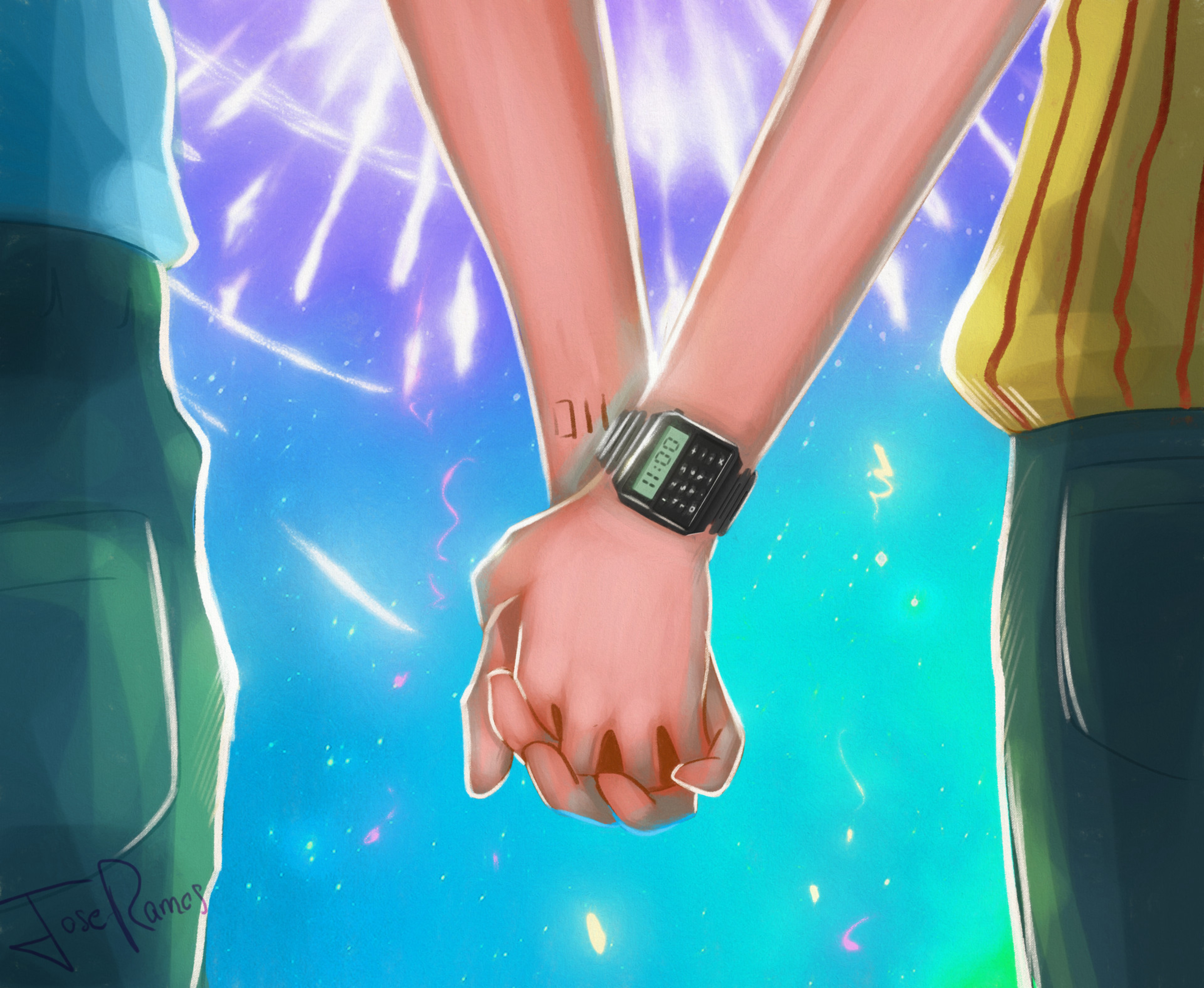 56647 download wallpaper Hands, Couple, Pair, Love, Romance, Art screensavers and pictures for free