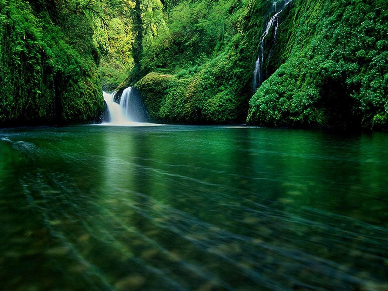 34999 скачать обои Пейзаж, Река, Водопады - заставки и картинки бесплатно