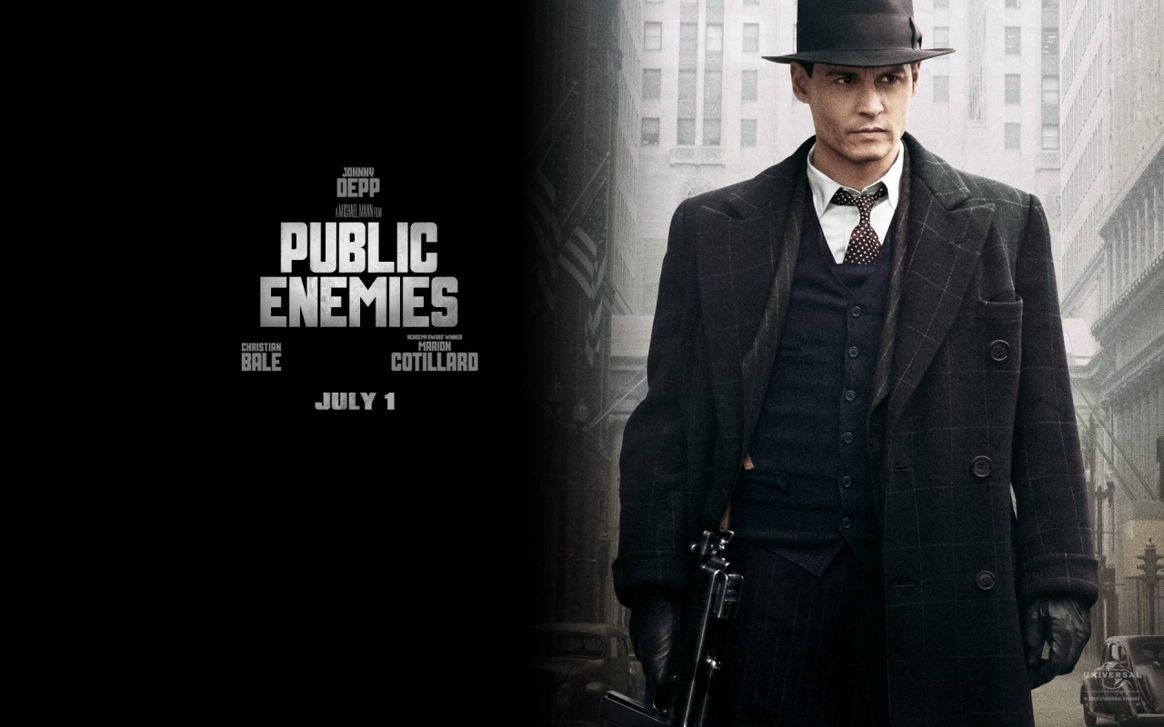 9915 download wallpaper Cinema, People, Actors, Men, Johnny Depp, Public Enemies screensavers and pictures for free