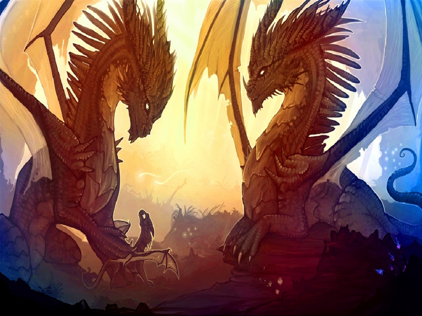 27055 Screensavers and Wallpapers Dragons for phone. Download Fantasy, Dragons pictures for free
