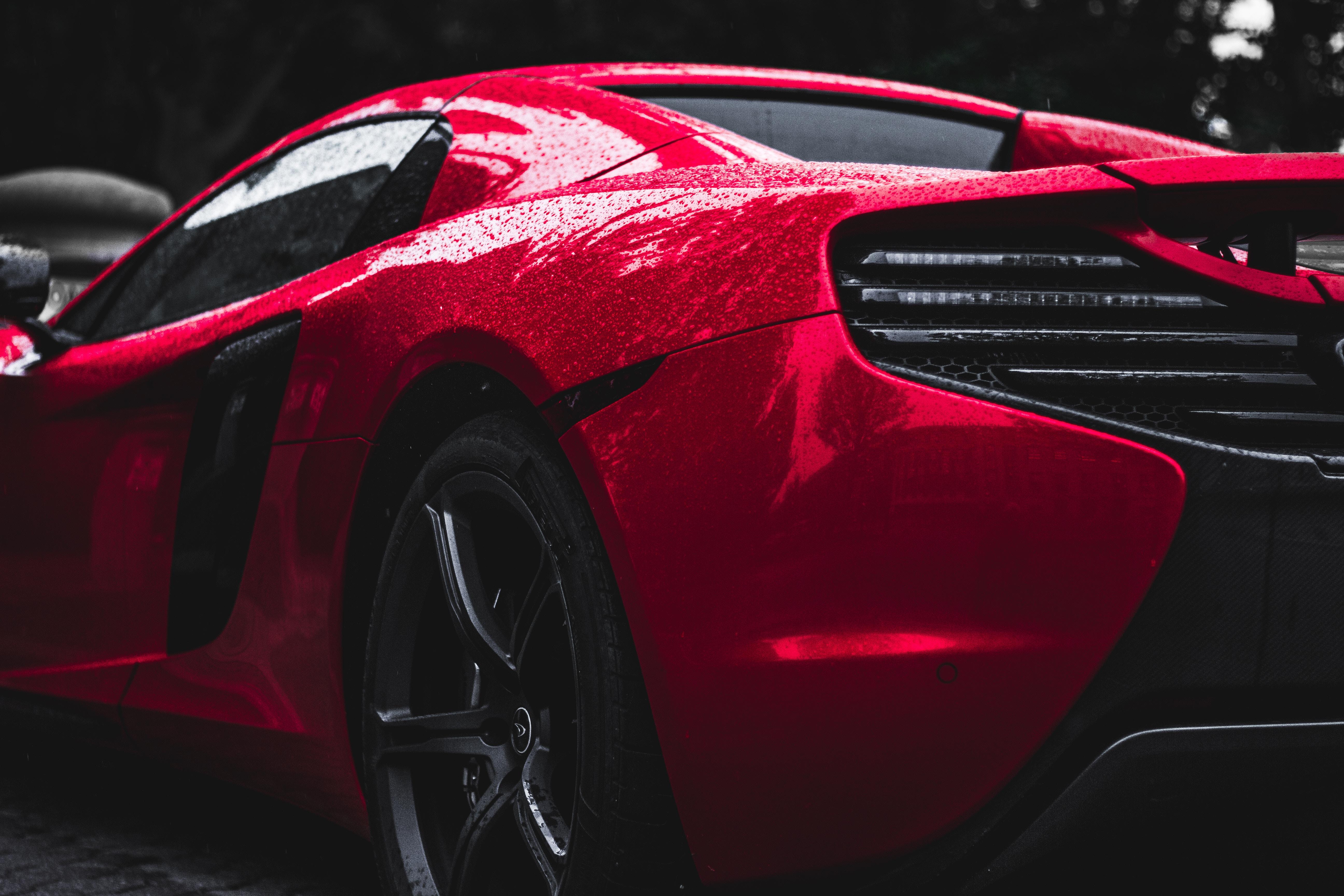 97735 Hintergrundbild herunterladen Sport, Auto, Drops, Cars, Sportwagen, Seitenansicht, Rad - Bildschirmschoner und Bilder kostenlos