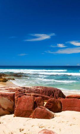 26364 скачать обои Пейзаж, Море, Пляж - заставки и картинки бесплатно