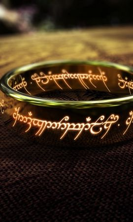 21788 download wallpaper Cinema, Objects, Rings, Jewelry, Lord Of The Rings screensavers and pictures for free