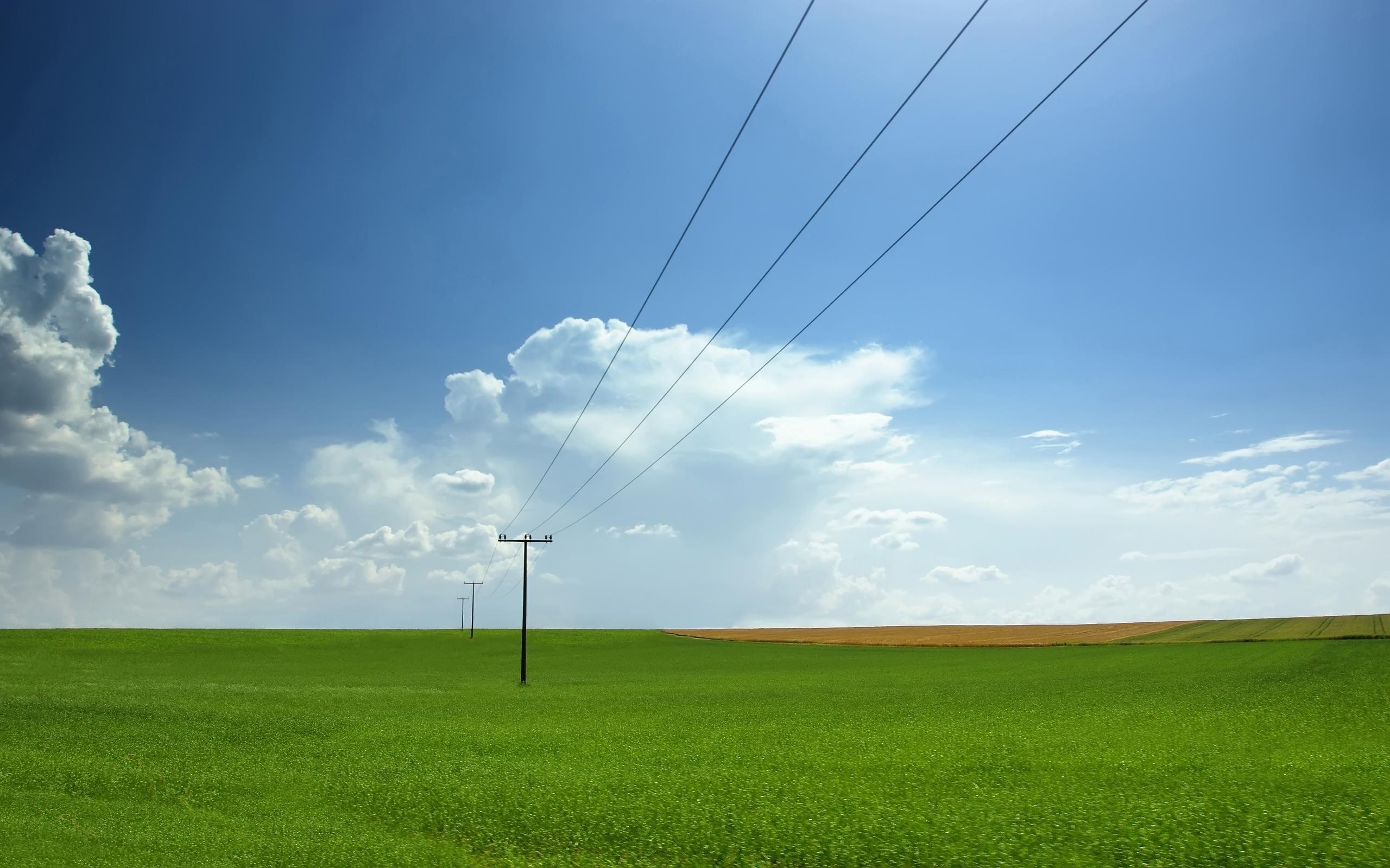 25522 скачать обои Пейзаж, Поля, Небо, Облака - заставки и картинки бесплатно
