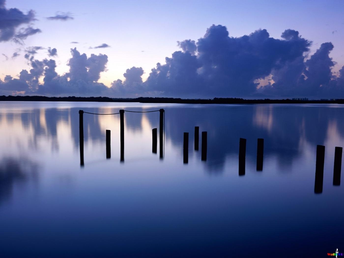 24148 скачать обои Пейзаж, Река, Облака - заставки и картинки бесплатно