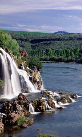 50323 скачать обои Пейзаж, Природа, Водопады, Озера - заставки и картинки бесплатно