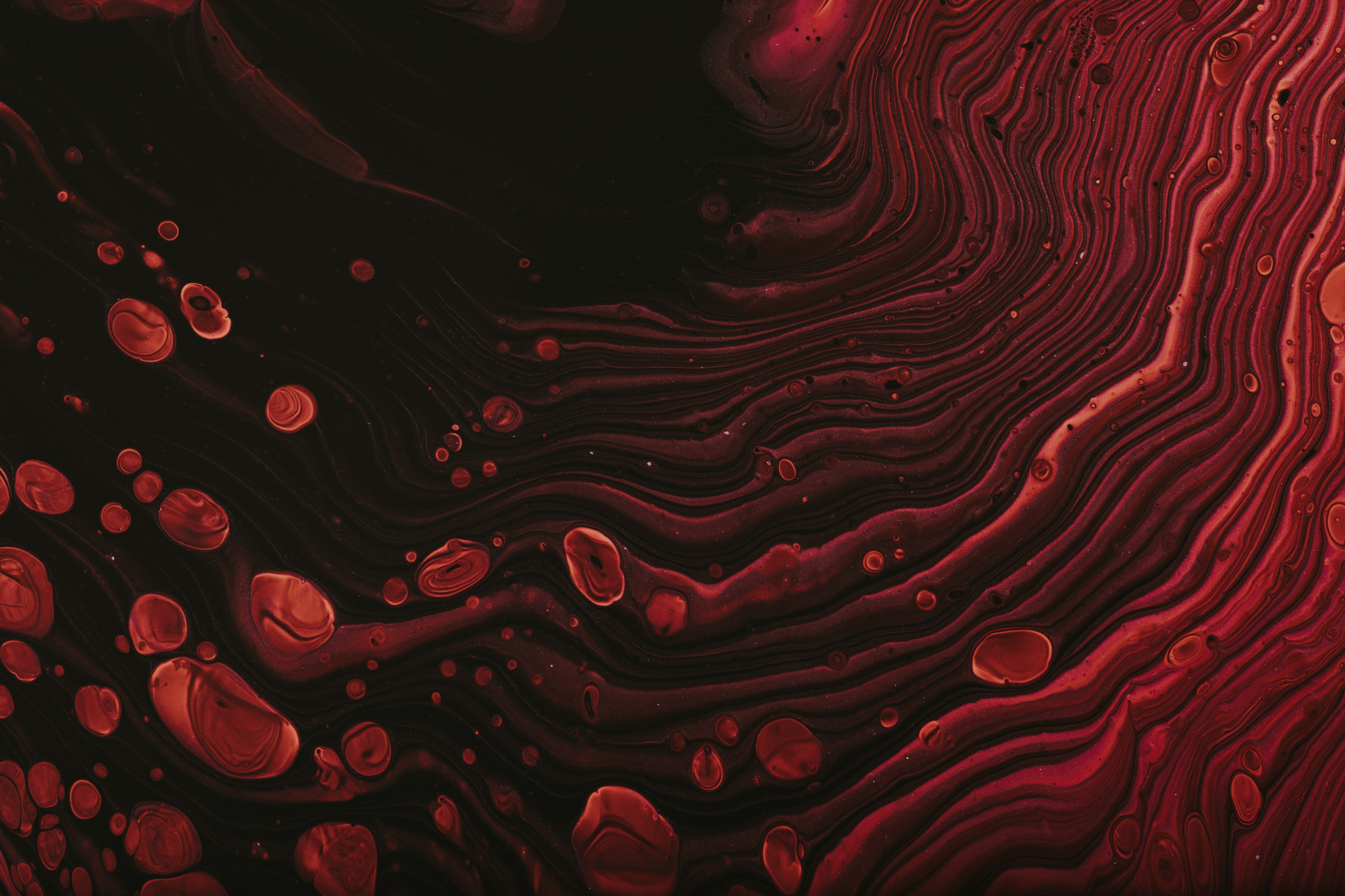 110495 download wallpaper Abstract, Stripes, Streaks, Lines, Paint, Liquid screensavers and pictures for free