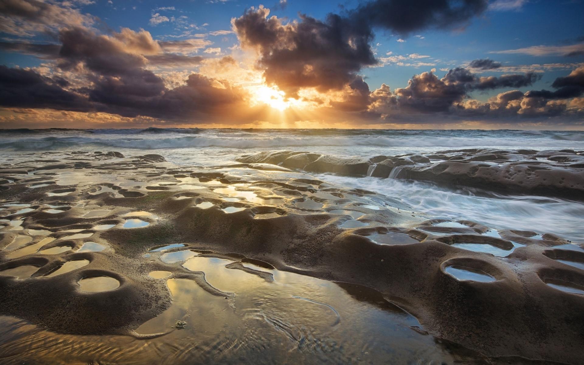 46043 скачать обои Пейзаж, Природа, Закат, Море - заставки и картинки бесплатно