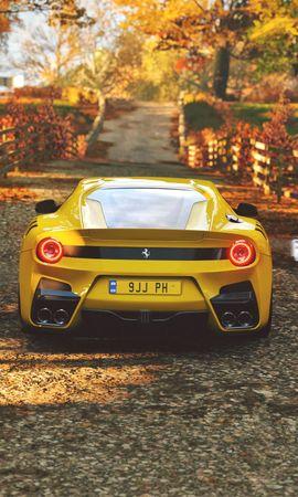 142737 télécharger le fond d'écran Voitures, Ferrari, Voiture De Sport, Sportif, Vue Arrière - économiseurs d'écran et images gratuitement