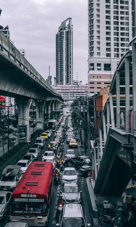113335 descargar fondo de pantalla Camino, Puente, Transporte, Edificio, Ciudades: protectores de pantalla e imágenes gratis