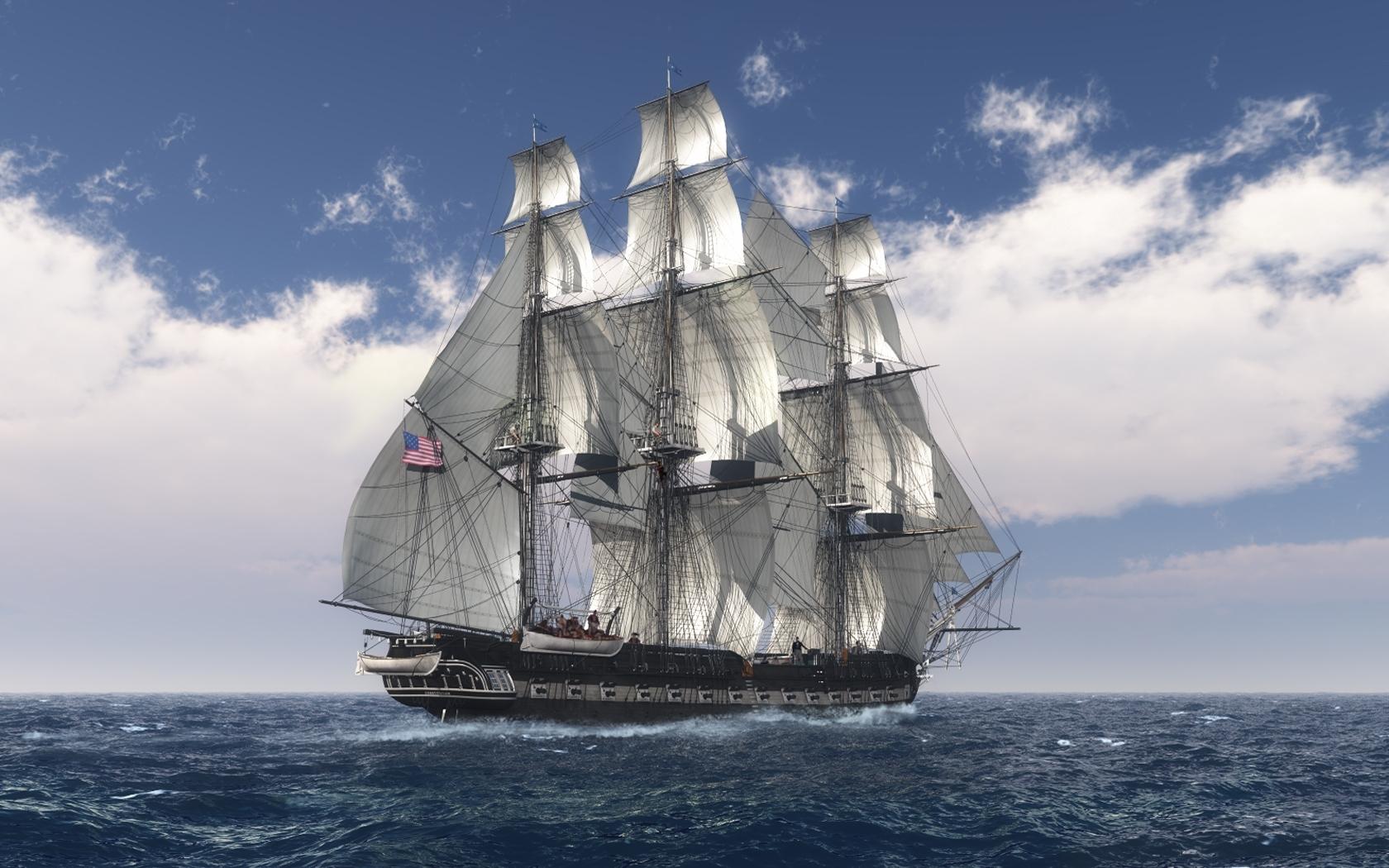 28472 скачать обои Транспорт, Пейзаж, Корабли, Море - заставки и картинки бесплатно