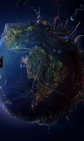 6747 télécharger le fond d'écran Fantaisie, Planètes, Univers - économiseurs d'écran et images gratuitement