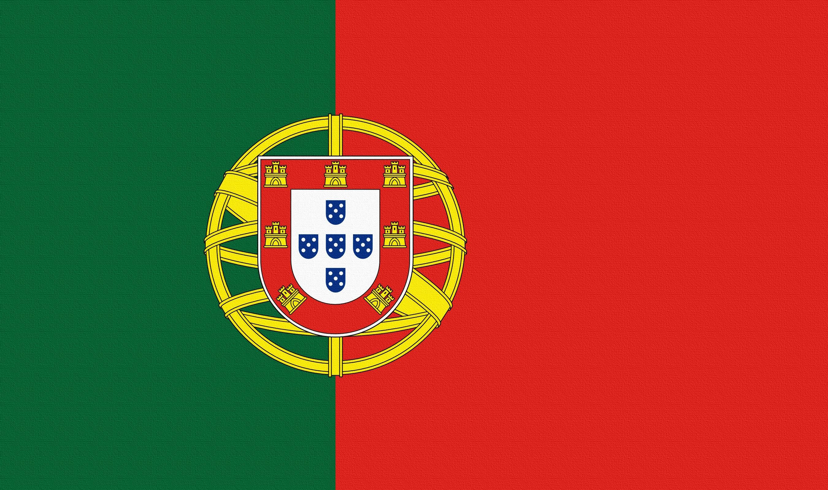53873 Hintergrundbild herunterladen Wappen, Verschiedenes, Sonstige, Flagge, Flag, Portugal - Bildschirmschoner und Bilder kostenlos