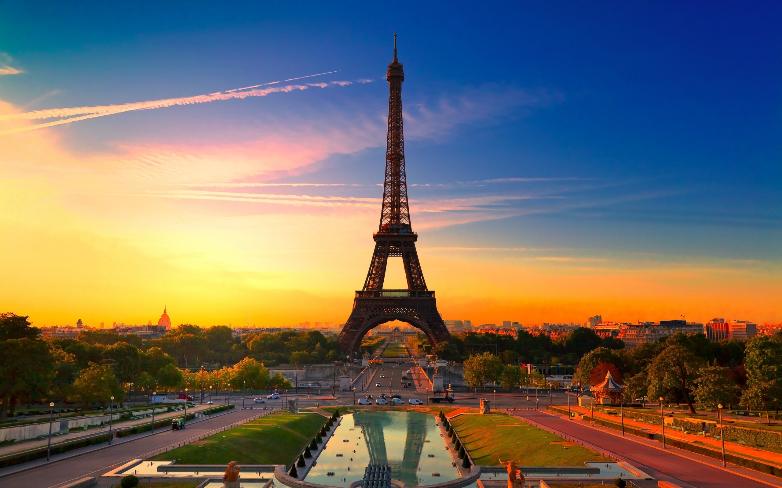 23463壁紙のダウンロード風景, 都市, アーキテクチャ, パリ, エッフェル塔-スクリーンセーバーと写真を無料で