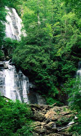 14662 скачать обои Растения, Пейзаж, Водопады - заставки и картинки бесплатно