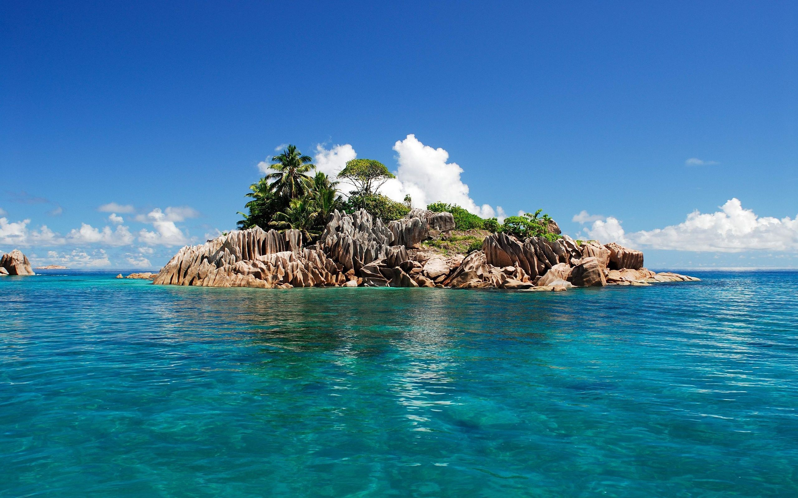 133144 Screensavers and Wallpapers Island for phone. Download Nature, Tropics, Island, Seychelles pictures for free