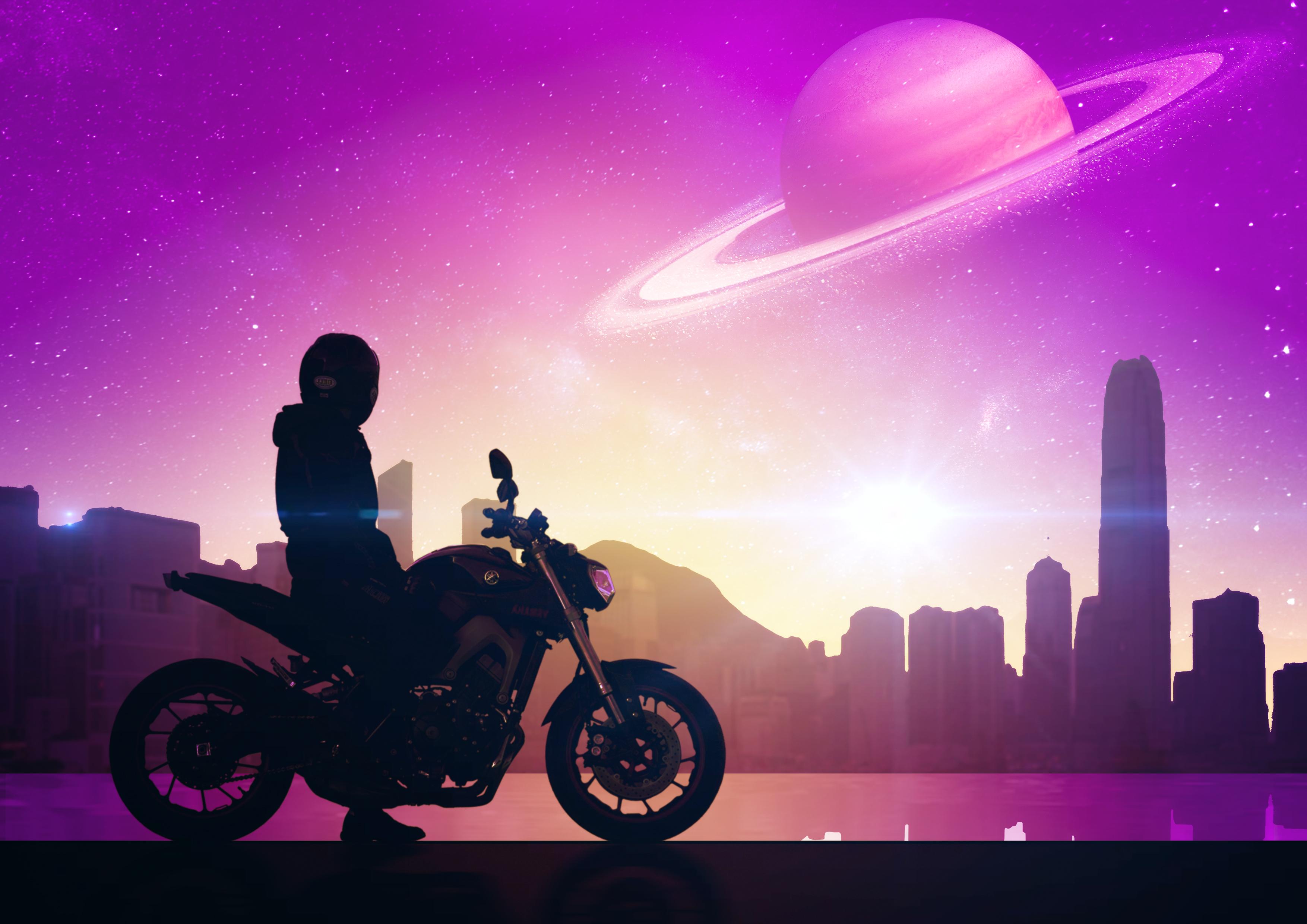 111592 économiseurs d'écran et fonds d'écran Art sur votre téléphone. Téléchargez Art, Univers, Moto, Ville, Motocycliste, Motocyclette, Bicyclette, Vélo images gratuitement