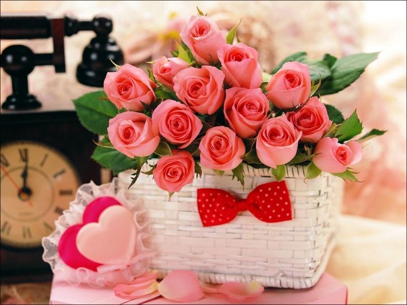 37317 скачать обои Букеты, Растения, Цветы, Розы - заставки и картинки бесплатно