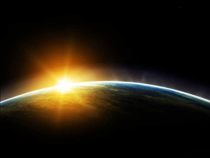 46439 download wallpaper Landscape, Planets, Sun screensavers and pictures for free