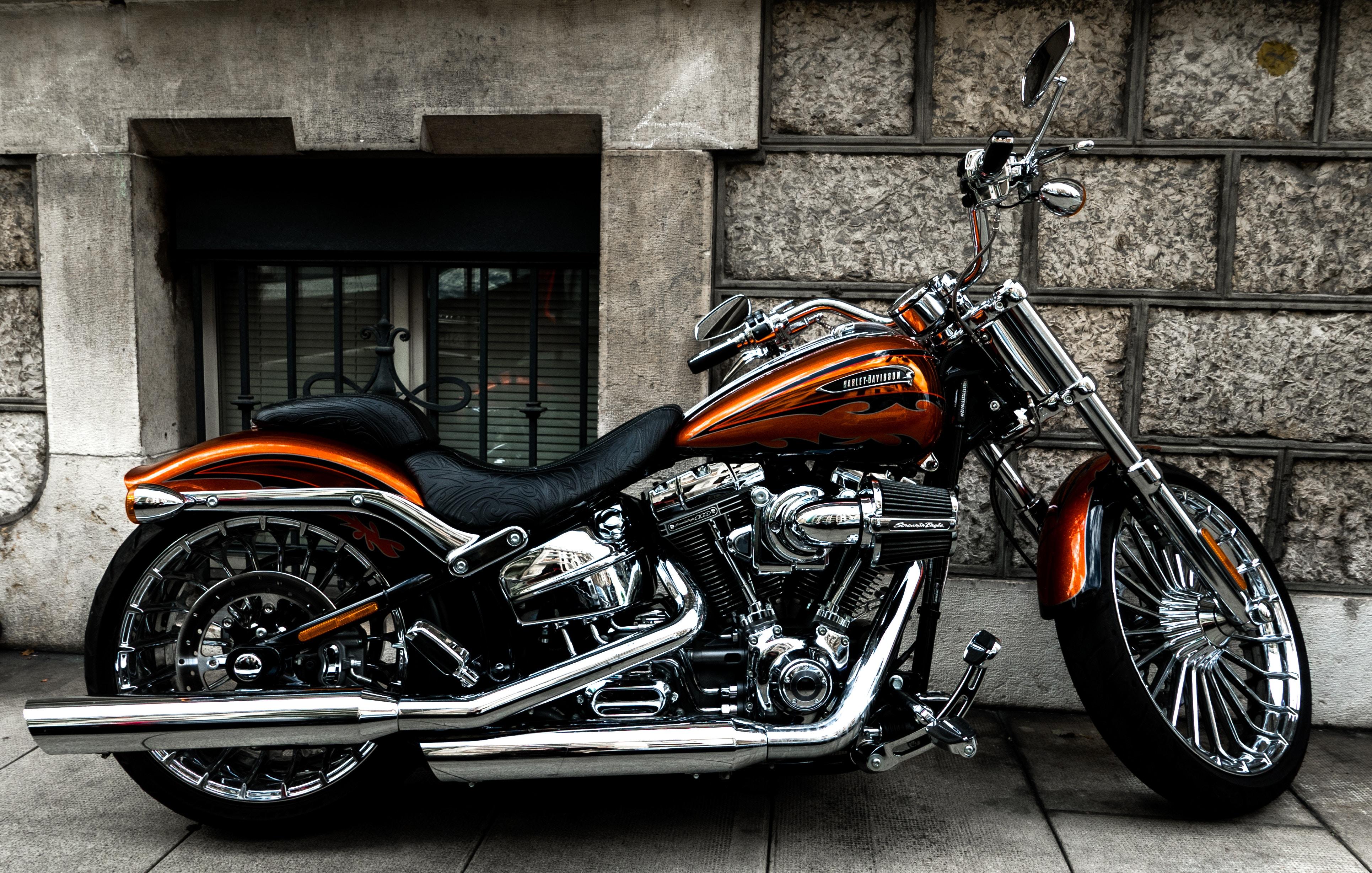 51301 Hintergrundbild herunterladen Motorräder, Seitenansicht, Motorrad, Fahrrad, Rad - Bildschirmschoner und Bilder kostenlos