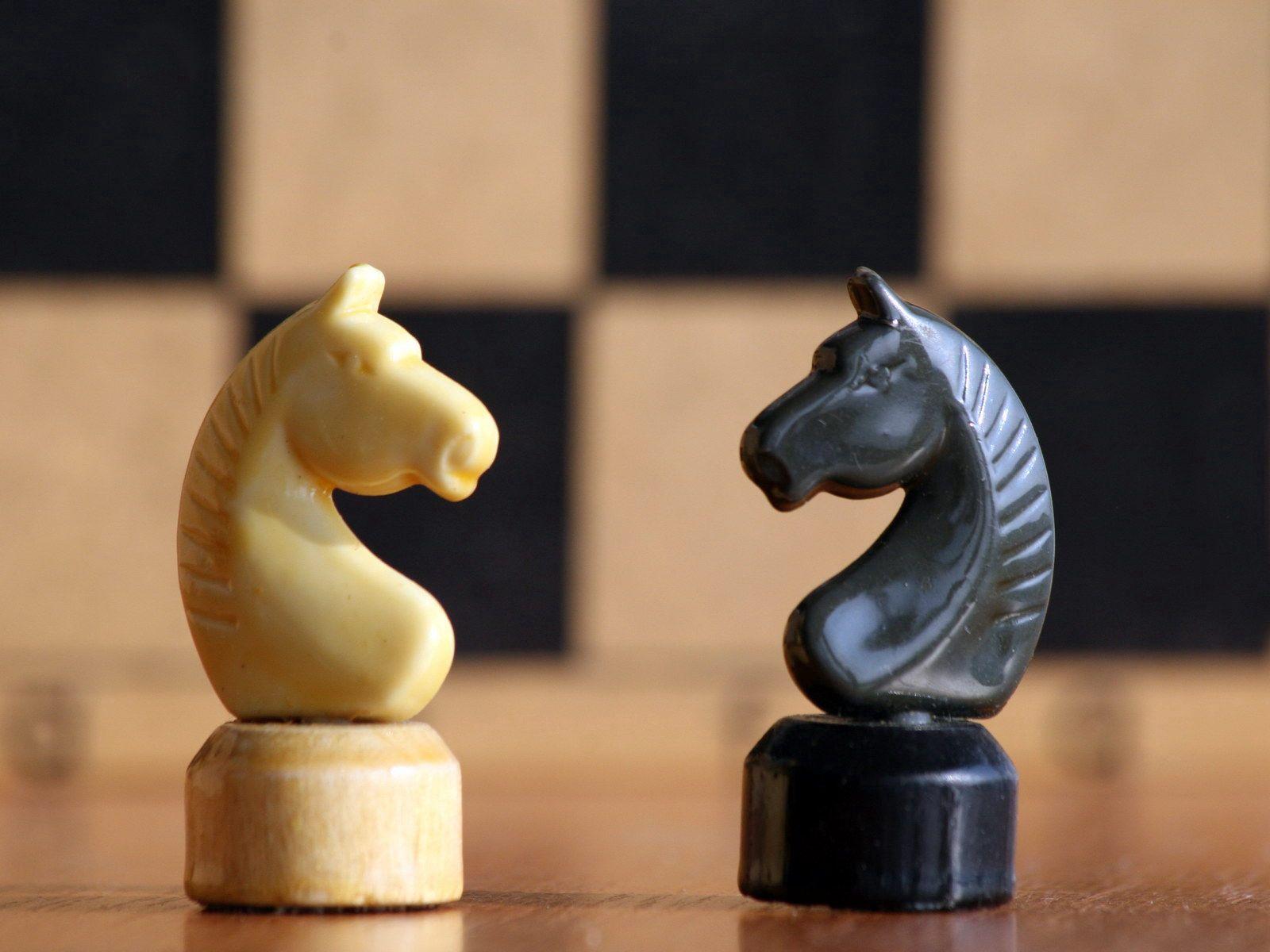 85063 Hintergrundbild herunterladen Sport, Chess, Das Schwarze, Form, Formen, Pferd - Bildschirmschoner und Bilder kostenlos