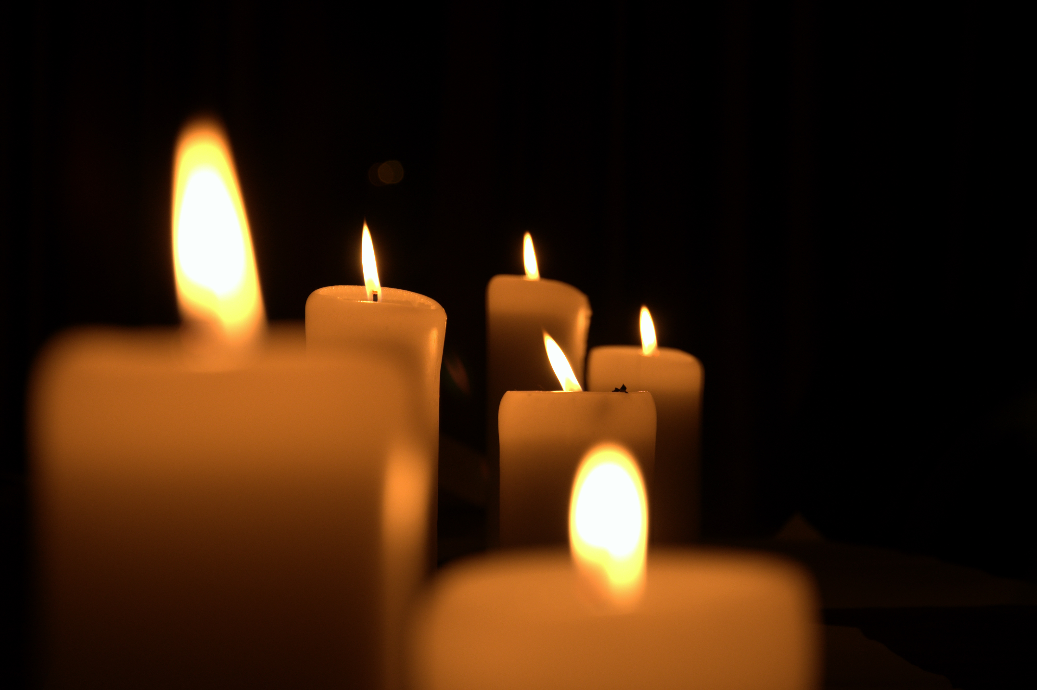 146310 Screensavers and Wallpapers Candles for phone. Download Fire, Candles, Dark, Shine, Light, Darkness pictures for free