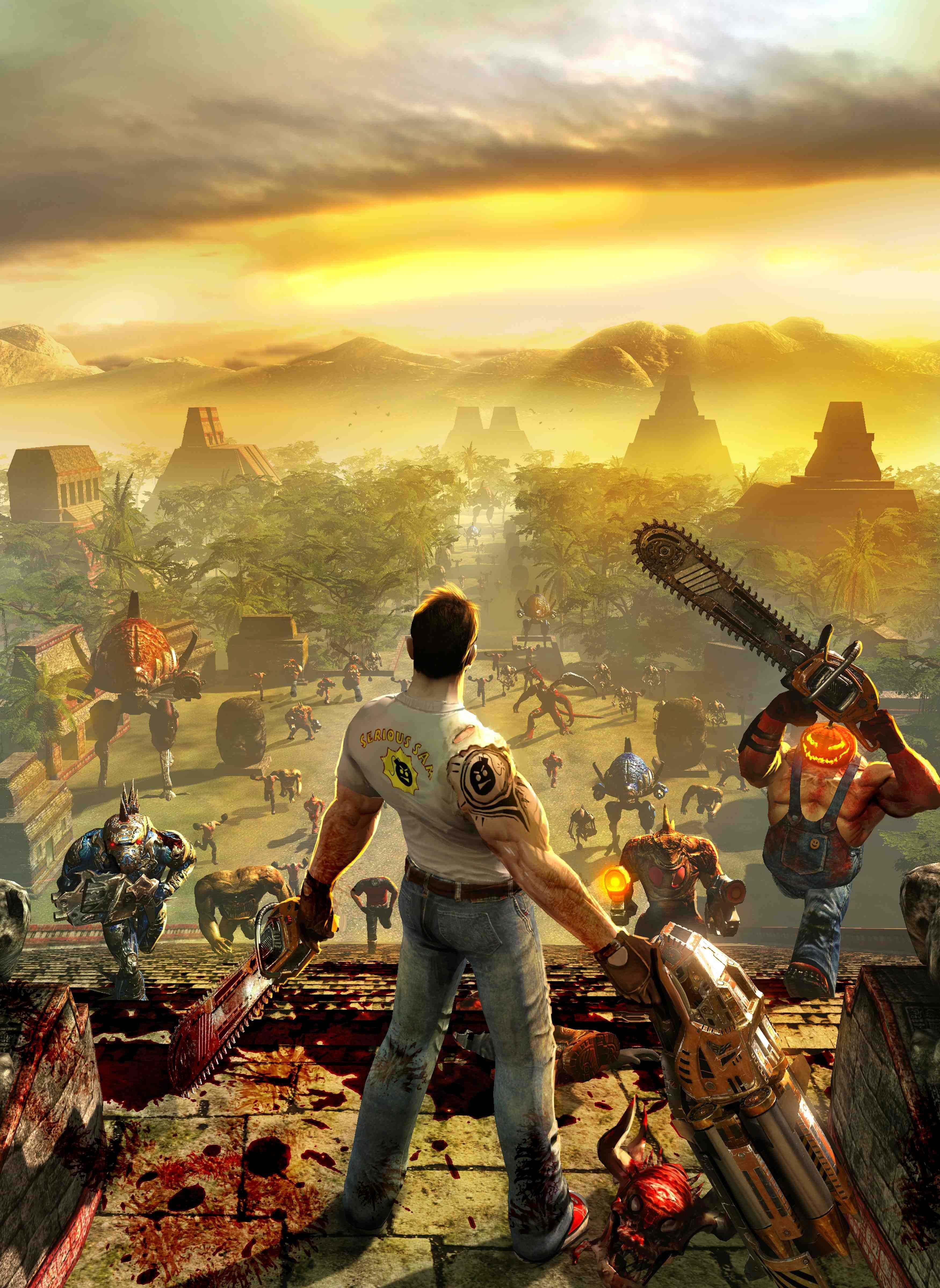 19478 download wallpaper Games, Serious Sam screensavers and pictures for free