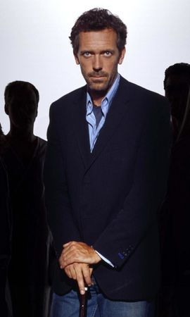 4875 download wallpaper Cinema, People, Actors, Men, House M.d., Hugh Laurie screensavers and pictures for free