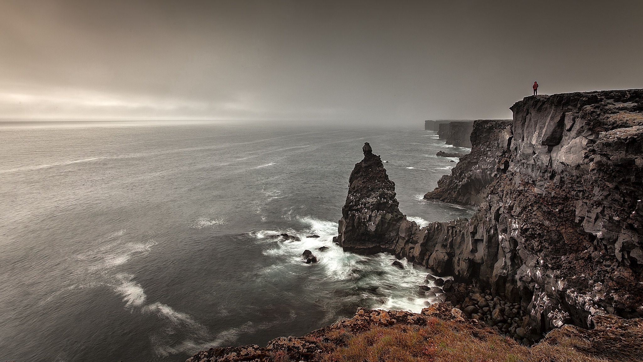 80833 download wallpaper Nature, Sea, Elevation, Stones, Rocks, Mountains screensavers and pictures for free