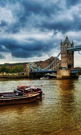 27622 скачать обои Пейзаж, Река, Мосты, Архитектура, Лондон - заставки и картинки бесплатно
