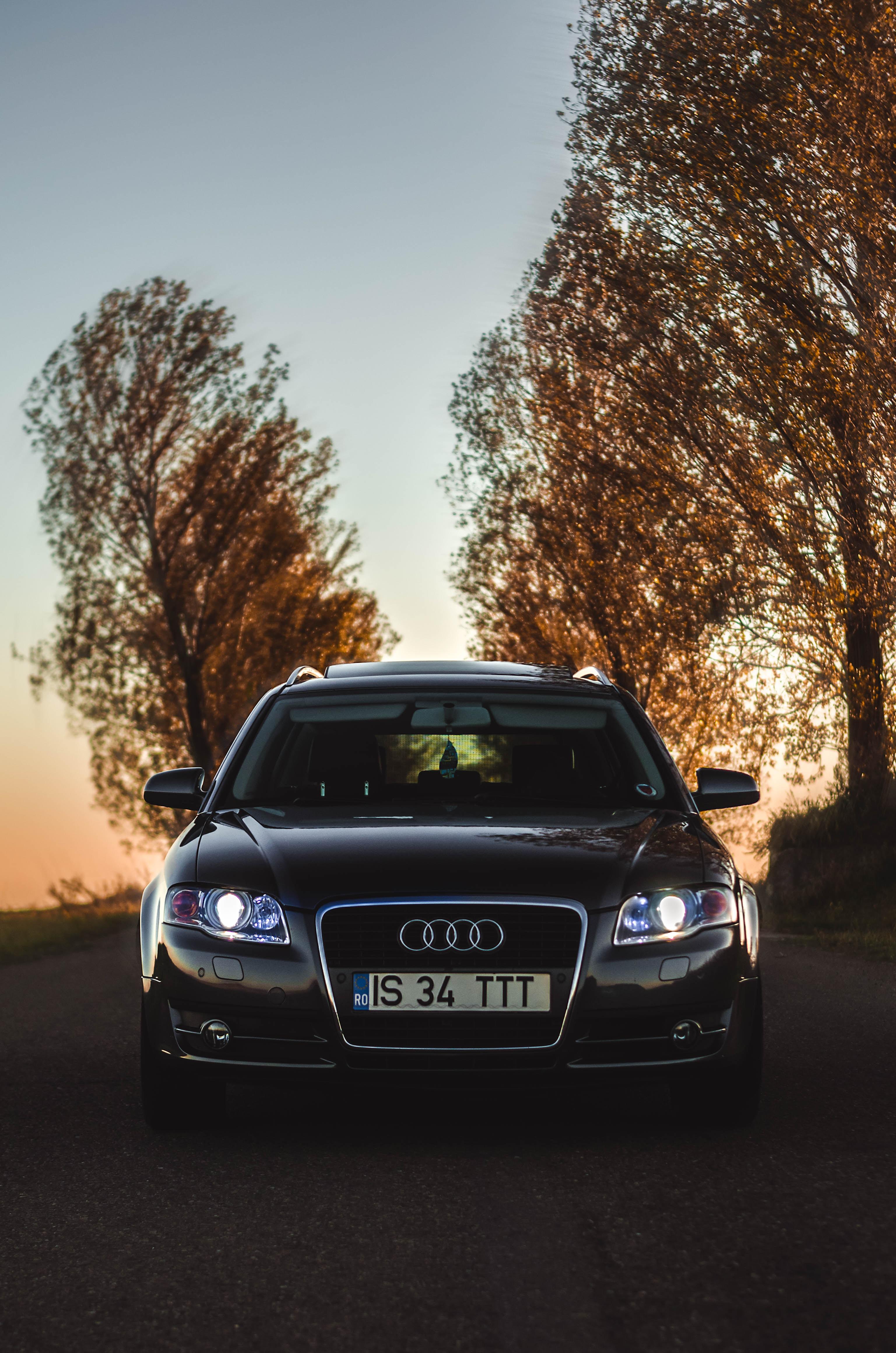85238 завантажити шпалери Ауді, Тачки, Дорога, Автомобіль, Вид Спереду, Audi Q7 - заставки і картинки безкоштовно