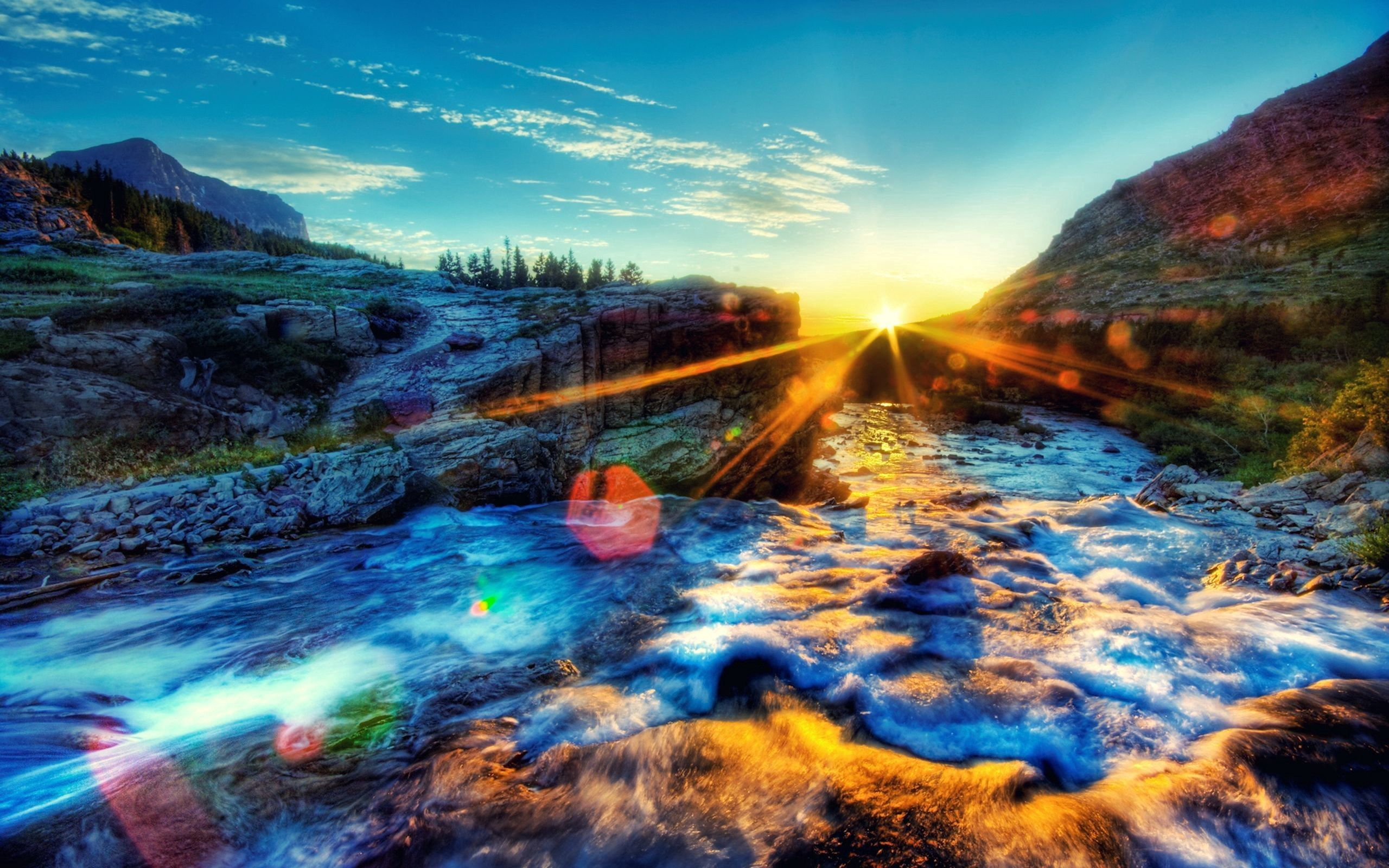 123555 download wallpaper Nature, Sunset, Sky, Shine, Light, Bright, Foam screensavers and pictures for free