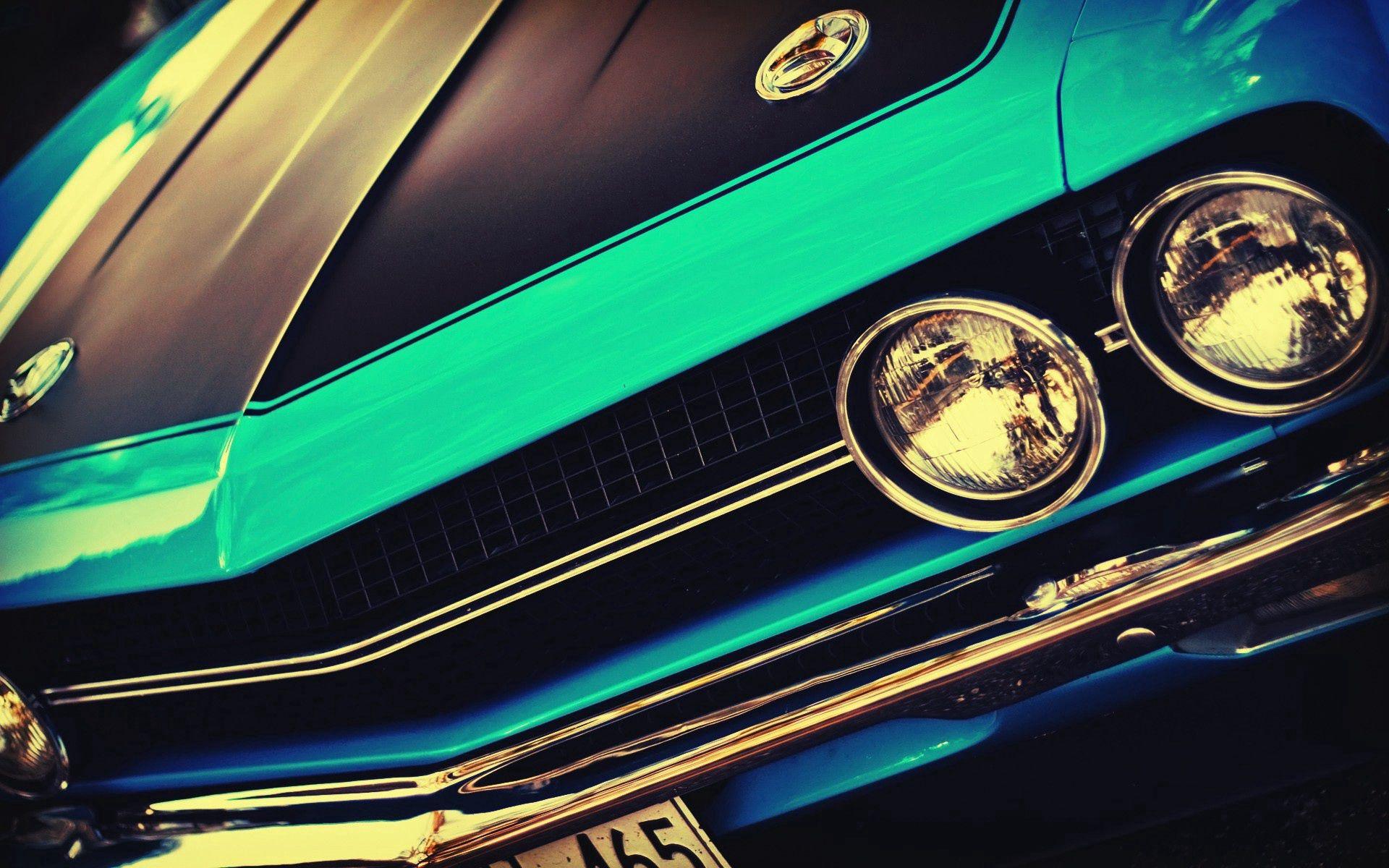 146936 Заставки и Обои Фары на телефон. Скачать Тачки (Cars), Фары, Передний Бампер, Muscle Car, Challenger, Classic Car, Street Rod картинки бесплатно