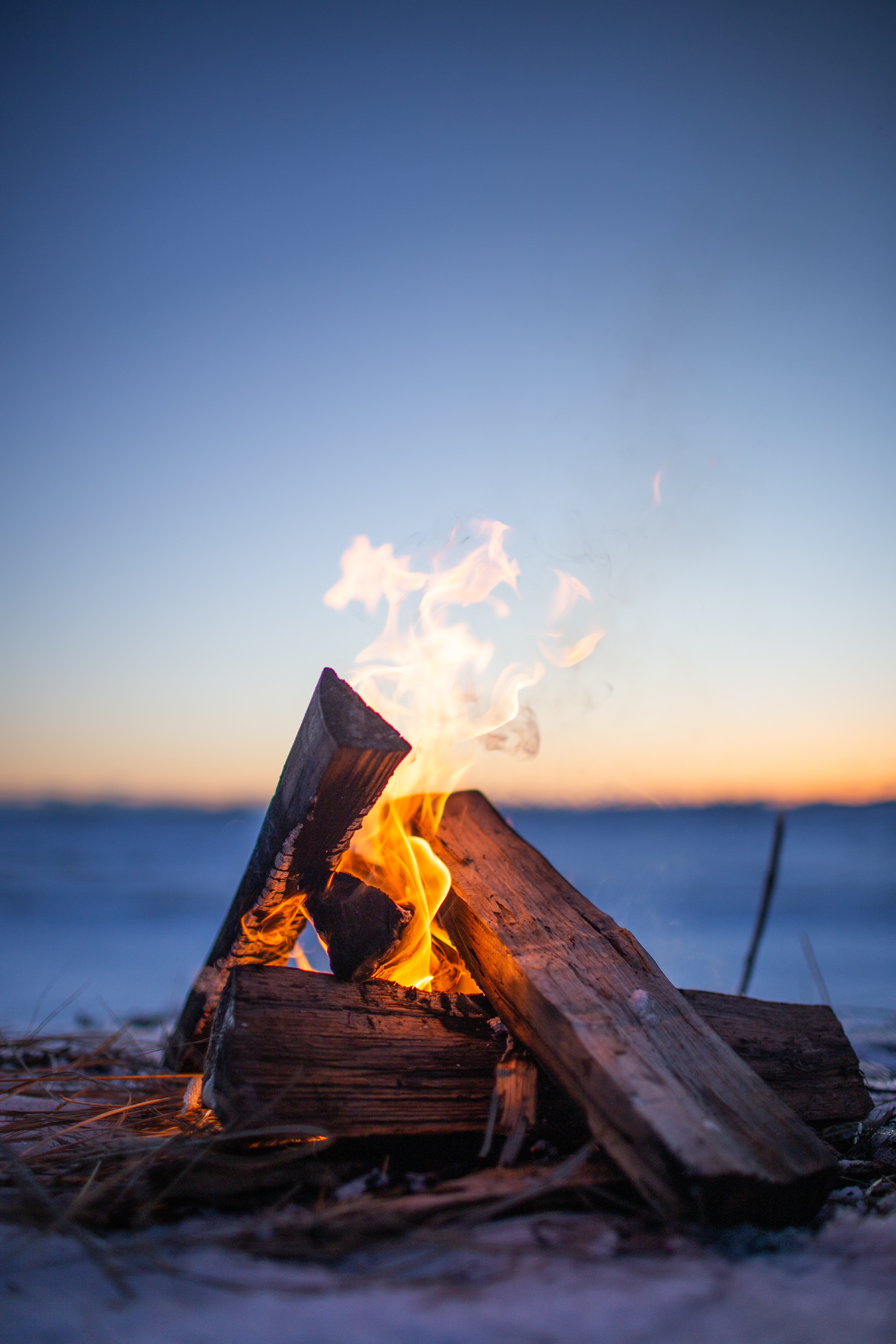139994 Screensavers and Wallpapers Firewood for phone. Download Fire, Bonfire, Flame, Miscellanea, Miscellaneous, Evening, Firewood, Camping, Campsite pictures for free