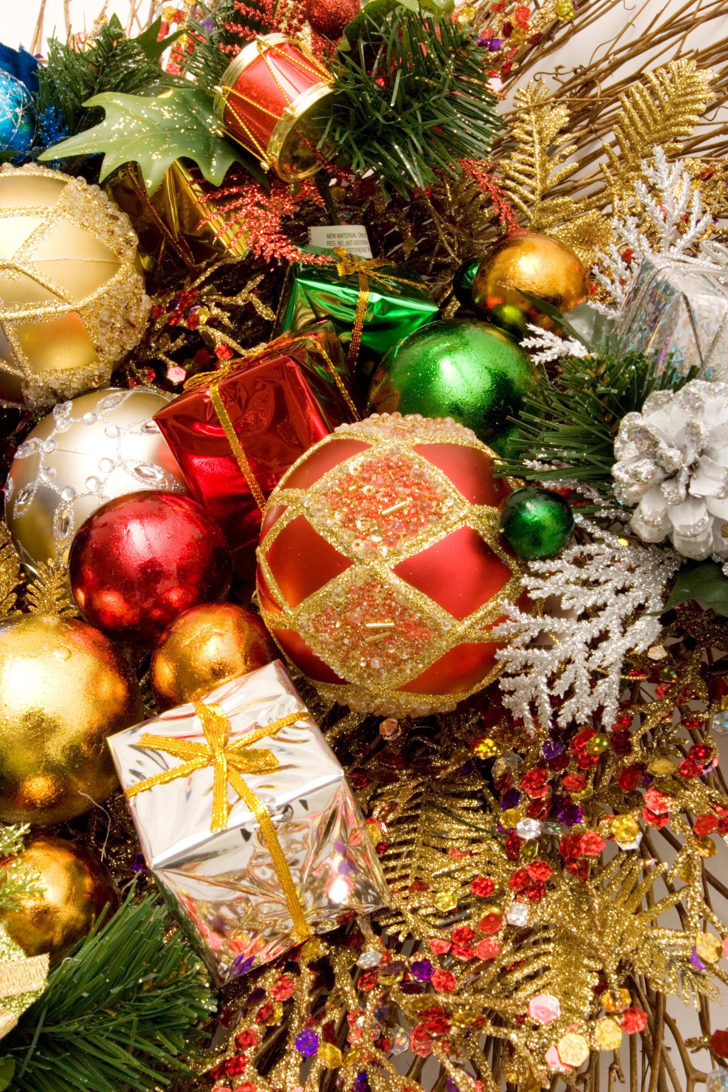 14033 скачать обои Праздники, Новый Год (New Year), Игрушки, Рождество (Christmas, Xmas) - заставки и картинки бесплатно