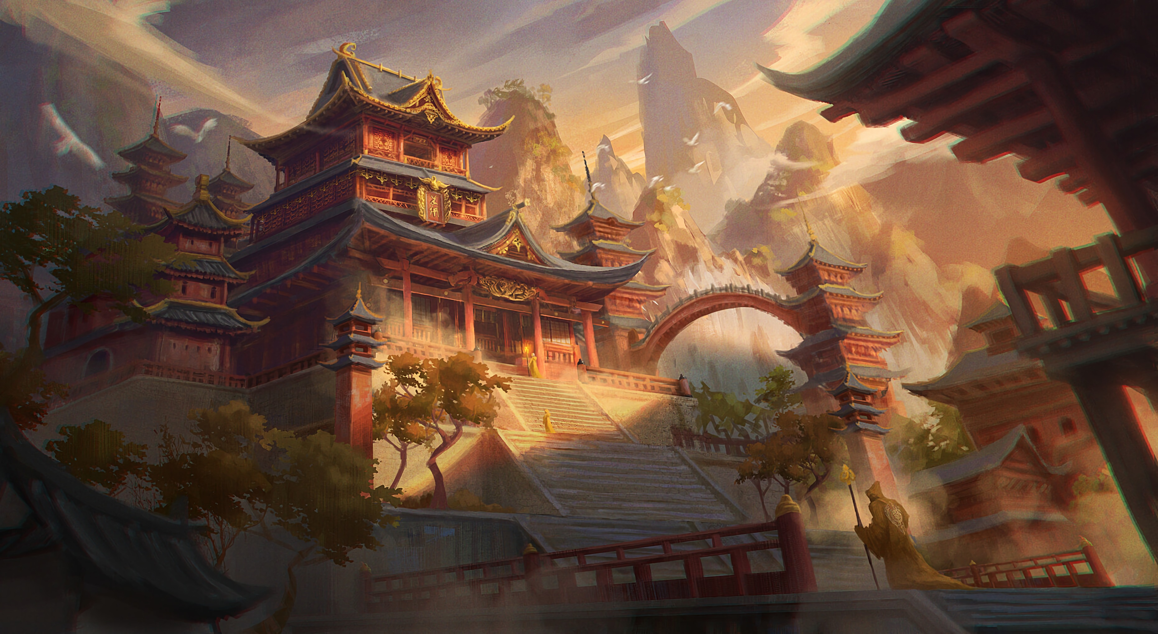 85818 download wallpaper Building, China, Art, Architecture screensavers and pictures for free