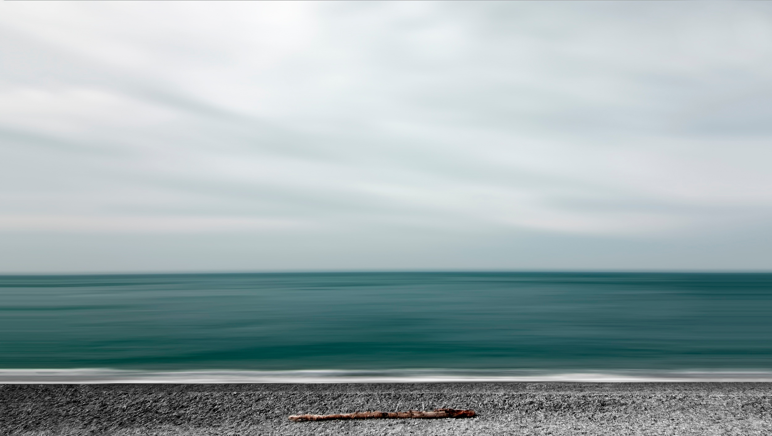 131914 download wallpaper Minimalism, Sea, Shore, Bank screensavers and pictures for free