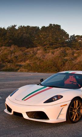 60342 télécharger le fond d'écran Voitures, Ferrari, Élégant, Chic, Pister, Route - économiseurs d'écran et images gratuitement