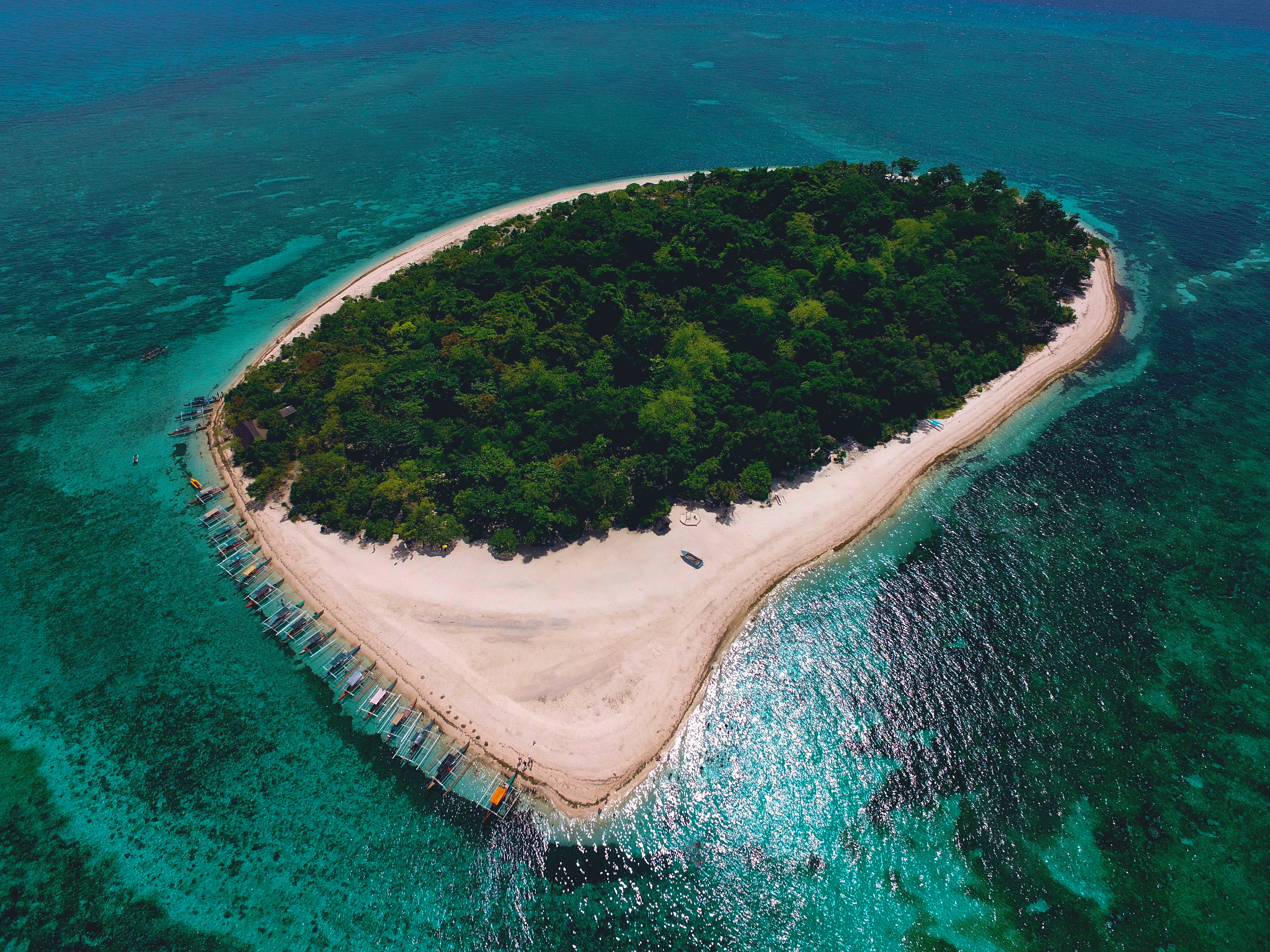 102533 Screensavers and Wallpapers Island for phone. Download Nature, Sea, View From Above, Ocean, Tropics, Island, Philippines pictures for free