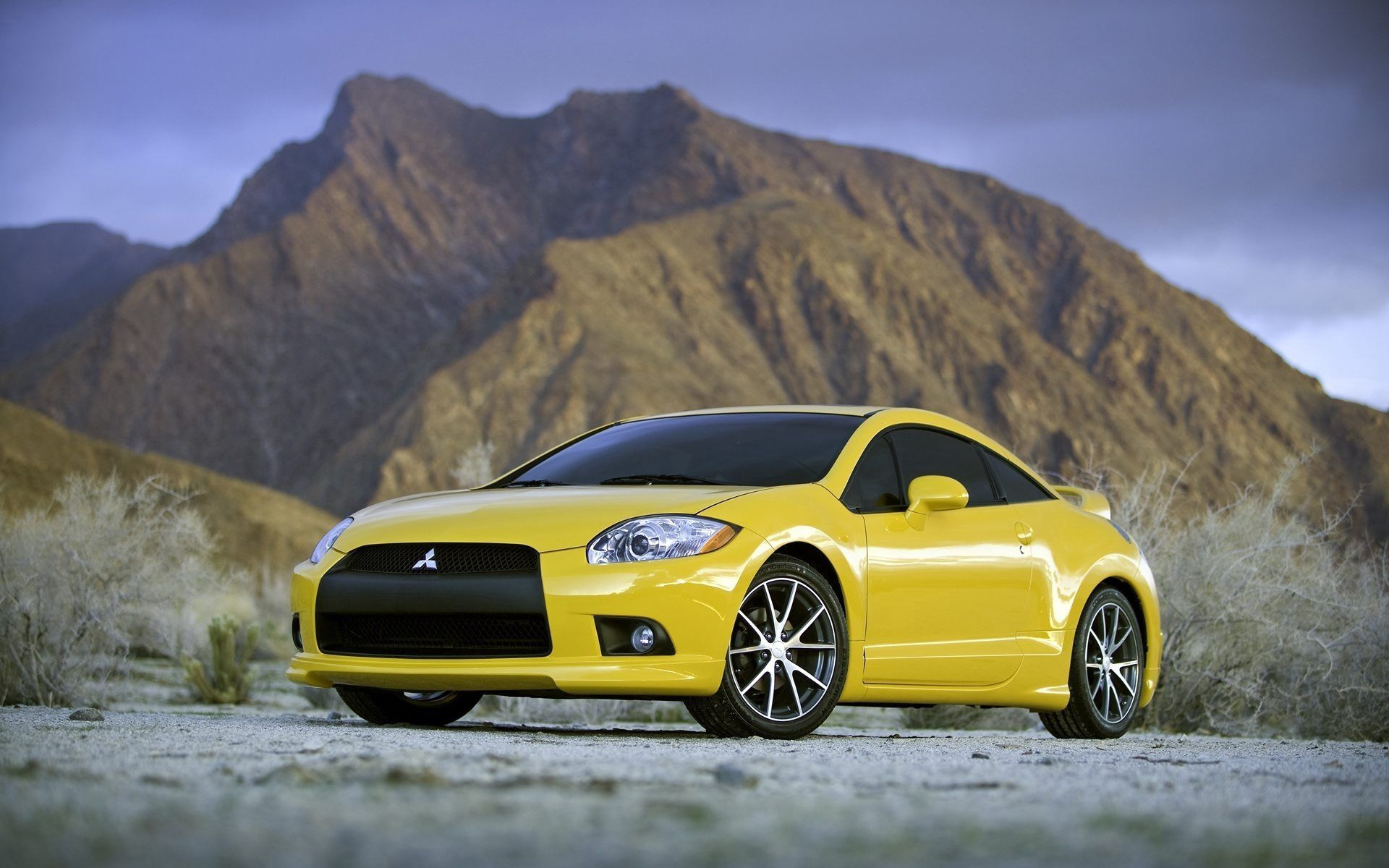 104911 download wallpaper Cars, Auto, Mitsubishi, Front View screensavers and pictures for free