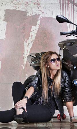 41591 descargar fondo de pantalla Transporte, Personas, Chicas, Motocicletas: protectores de pantalla e imágenes gratis