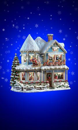 17690 скачать обои Праздники, Зима, Новый Год (New Year), Рождество (Christmas, Xmas) - заставки и картинки бесплатно