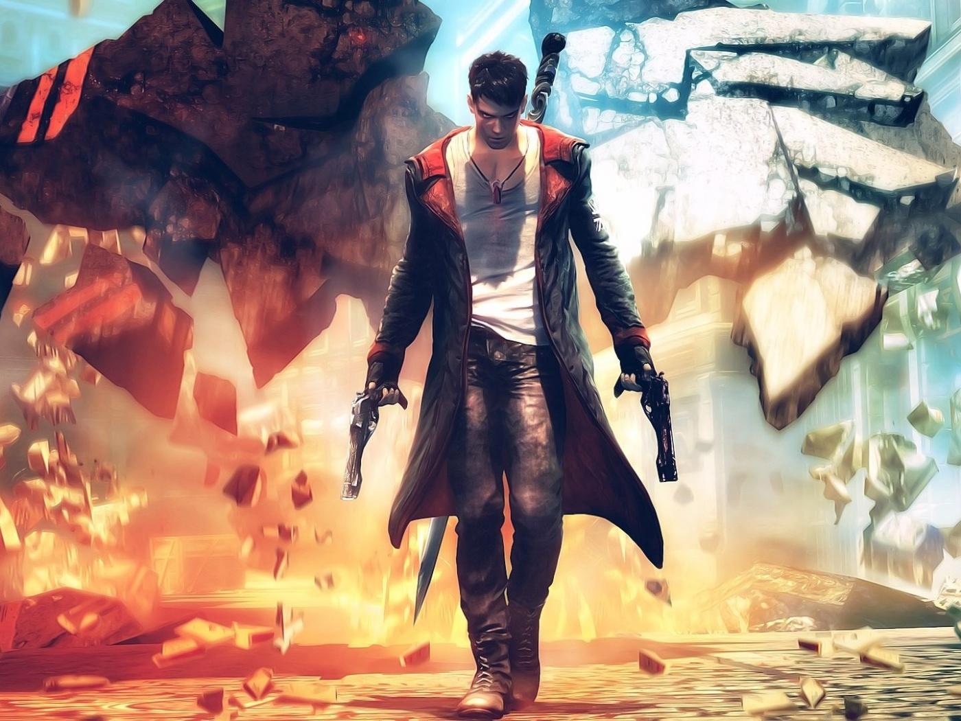 37313 baixar papel de parede Jogos, Devil May Cry - protetores de tela e imagens gratuitamente