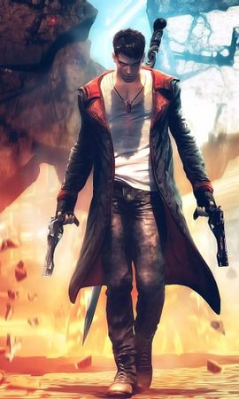 37313 download wallpaper Games, Devil May Cry screensavers and pictures for free