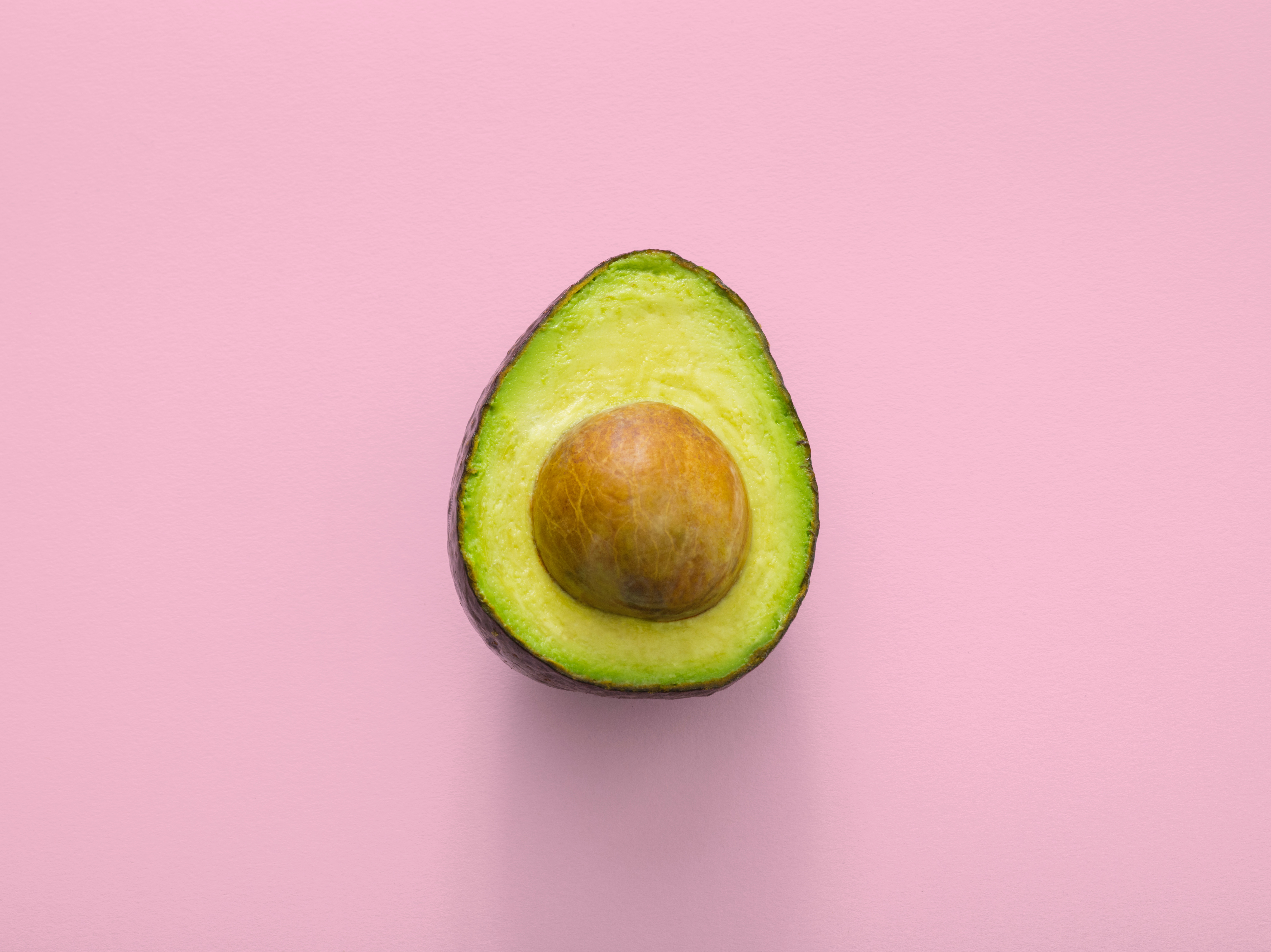 69059 download wallpaper Minimalism, Pink, Avocado screensavers and pictures for free