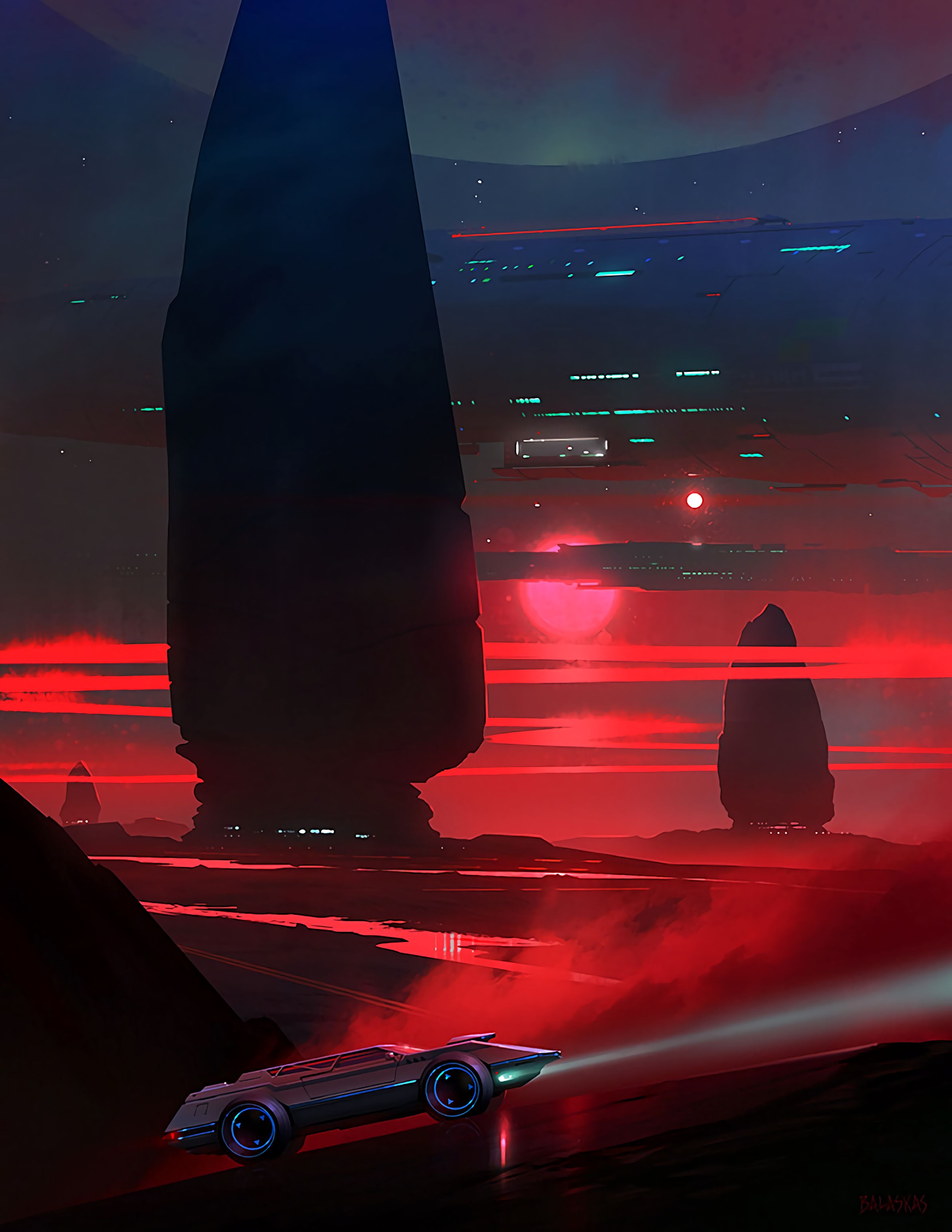 54022 Screensavers and Wallpapers Sci-Fi for phone. Download Art, Night, Car, Futurism, Sci-Fi, Spaceship pictures for free