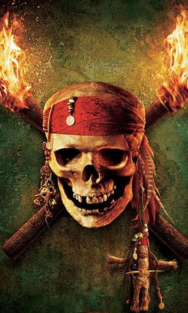 20091 download wallpaper Cinema, Pirates Of The Caribbean, Skeletons screensavers and pictures for free