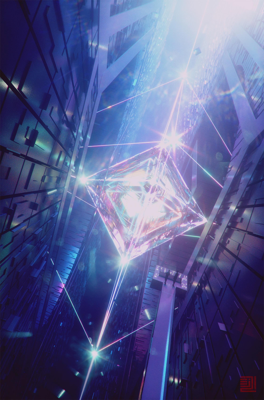 78228 免費下載壁紙 杂项, 水晶, 辉光, 发光, 强光, 高光, 横梁, 光束, 明亮的, 明亮, 数字, 形状 屏保和圖片